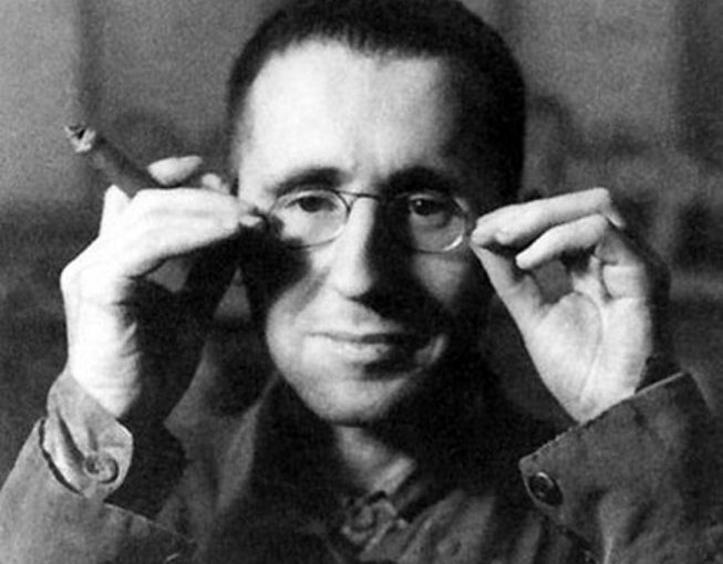 Bertolt Brecht.