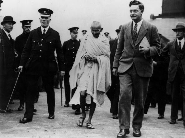 Gandhi Touring