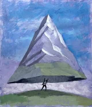 La fe mueve montañas… – Diario de un rincón…
